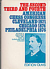 1871 - BROWNSON MFL / CLEVELAND 1874 CHICAGO, PHILADELPHIA 1876
