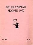 1972 - CHESS PLAYER / SKOPJE OLYMPIAD, paper