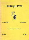 1971 - CHESS PLAYER / HASTINGS1971/72  1. Korchnoi/Karpov, paper