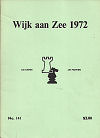 1972 - CHESS PLAYER / WIJK AANZEE  1. PORTISCH, paper
