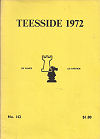 1972 - CHESS PLAYER / TEESIDE1. BENT LARSEN, paper