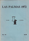 1972 - CHESS PLAYER / LAS PALMAS1. PORTISCH, paper