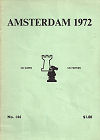 1972 - CHESS PLAYER / AMSTERDAM  IBM1. POLUGAJEVSKI, paper