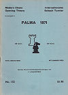1971 - CHESS PLAYER / PALMA DEMALLORCA   1. LJUBOJEVIC, paper