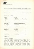 1980 - BULLETIN / LUZERN  